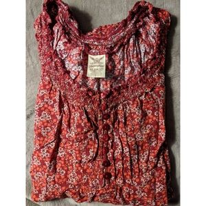Faded Glory Peasant Top Size XL (16-18)